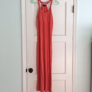 Willi Smith | Coral Maxi Dress